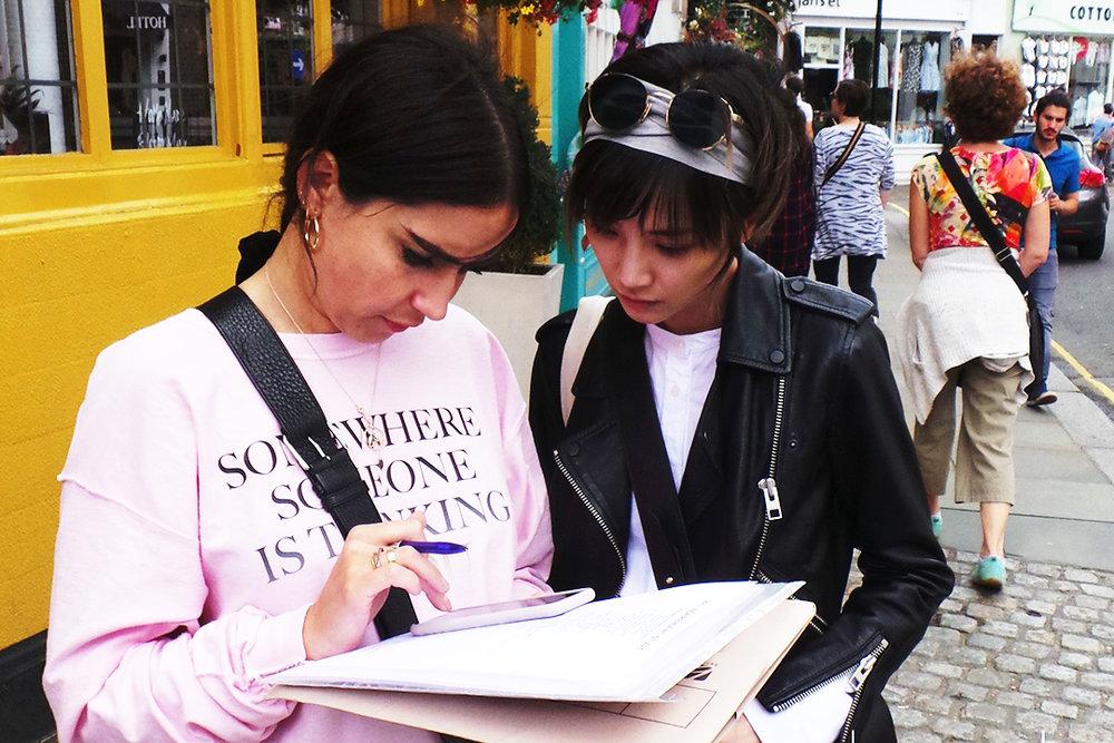 明星歌手/ 演员苏诗丁 - INSPIRER HUB 猎奇英伦时尚游学课程
