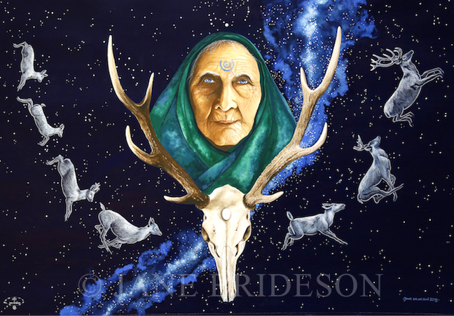 'Mother of the Herd - Rebirth' by Jane Brideson