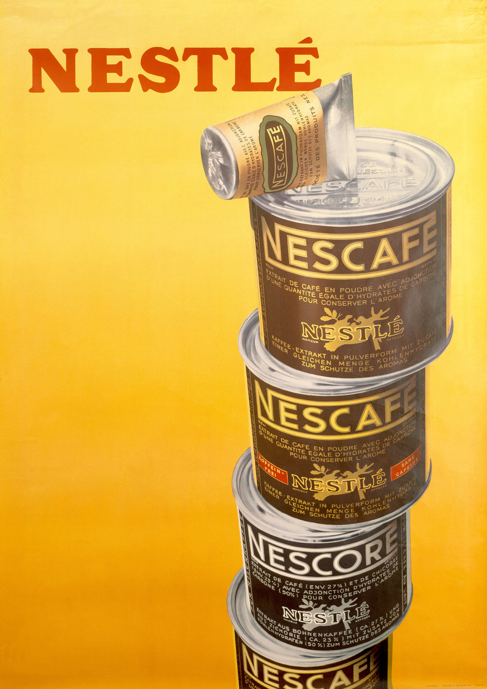 A 1946 advert for Nestlé Nescafe