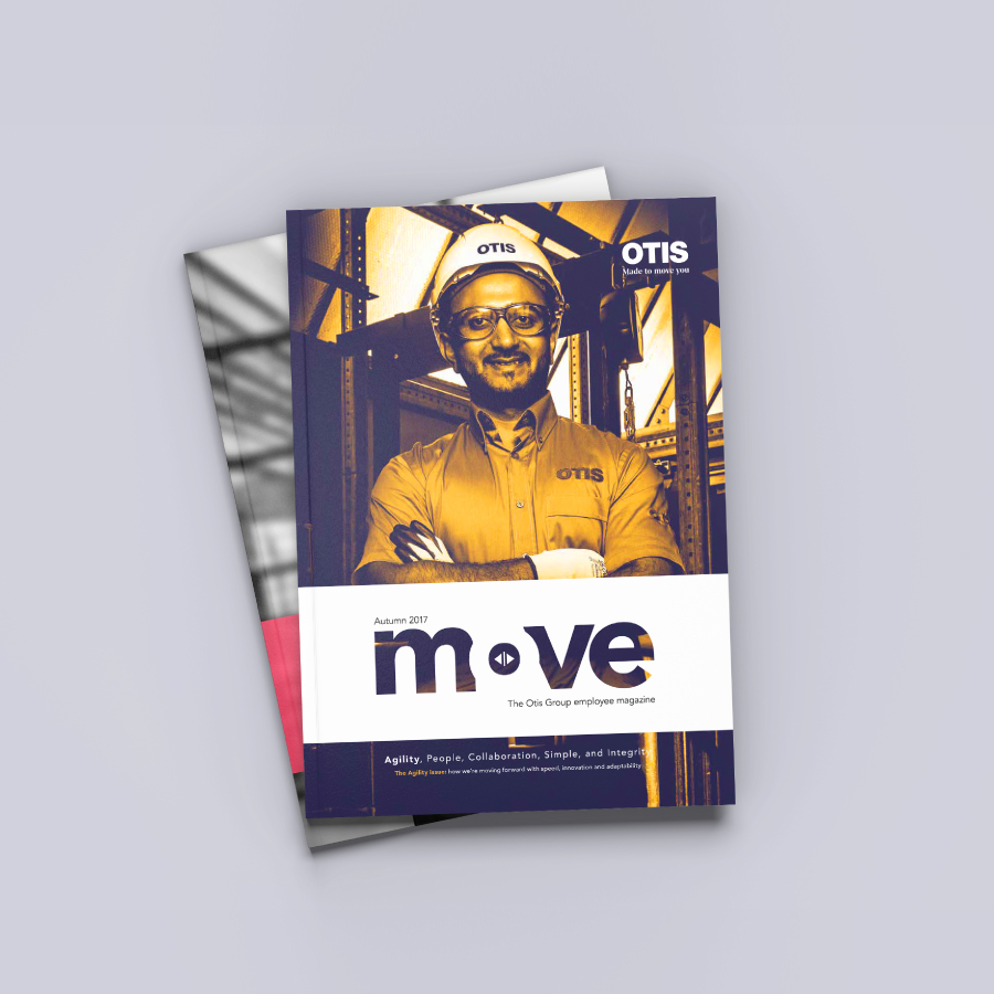 Otis<strong>Award-nominated magazine redesign.</strong>