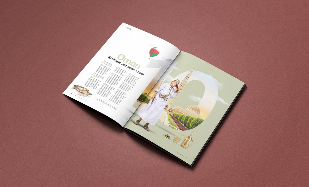 The main JTI INSIDE magazine that we write and design