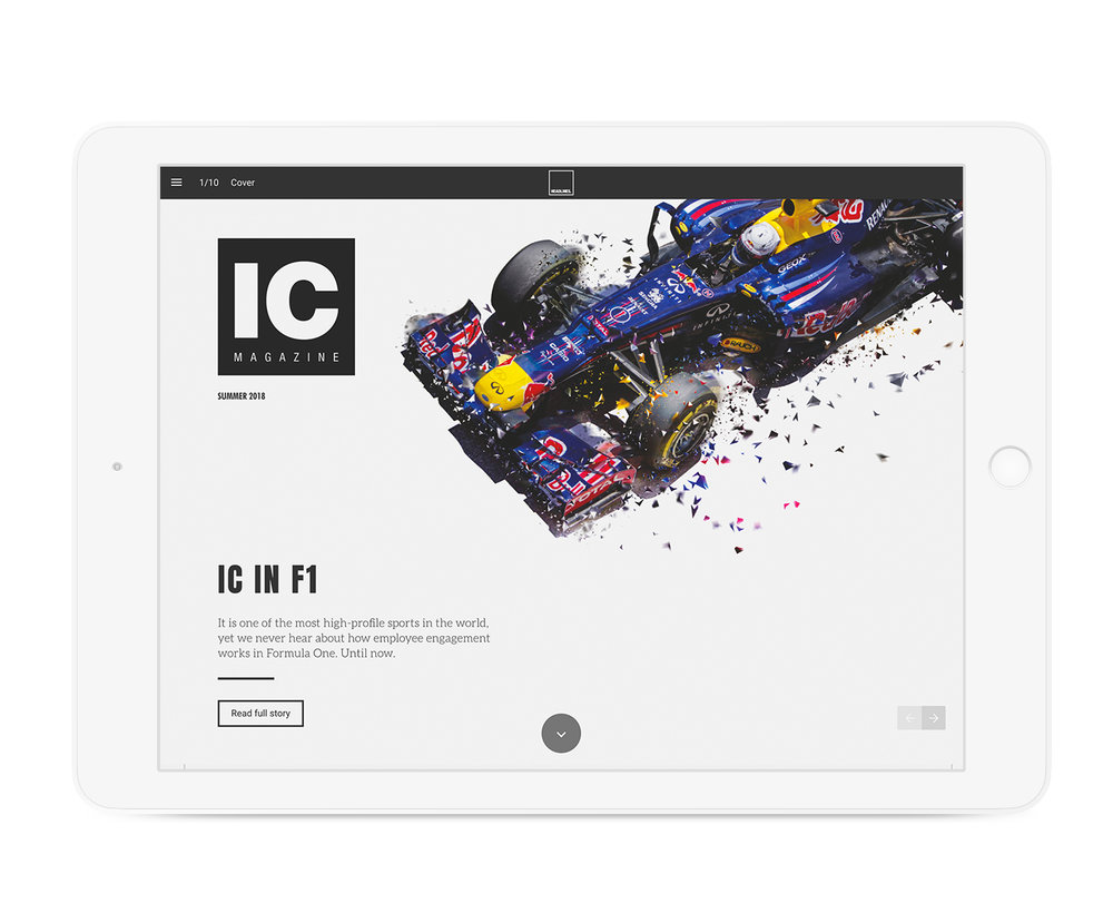 Digital magazine edition
