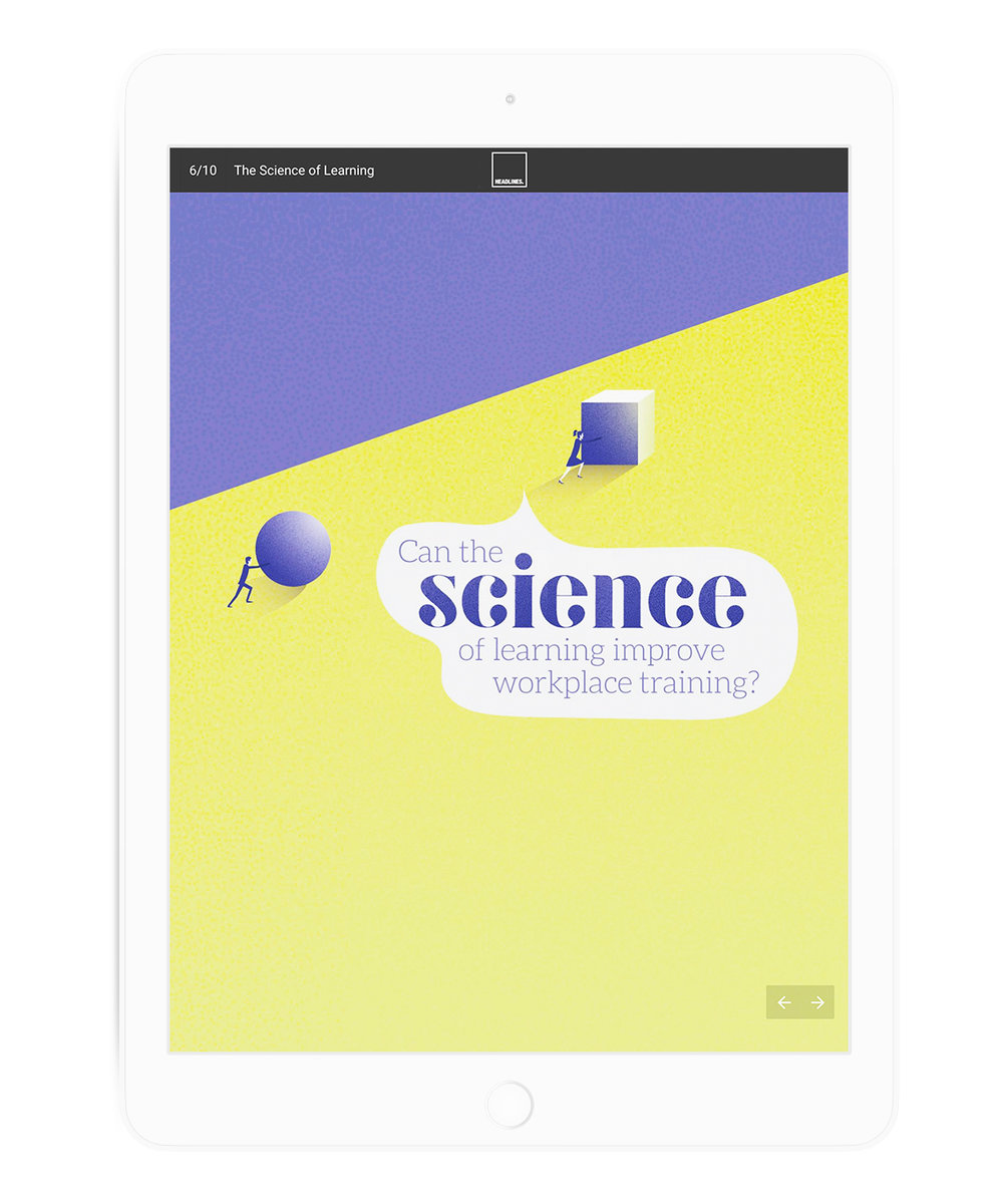 The Science of Learning feature section