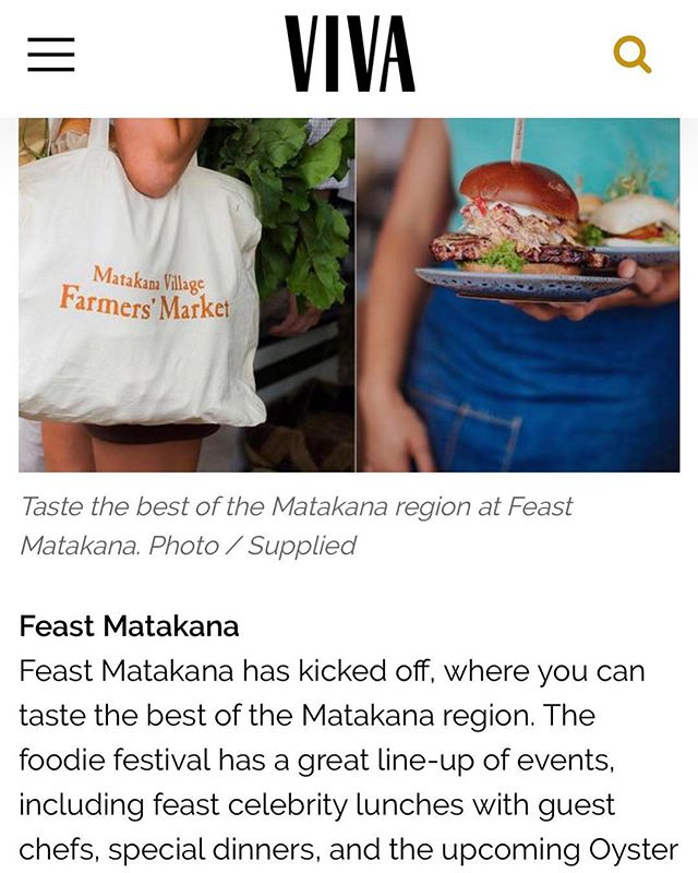 @nzhviva has added Feast Matakana to their list of fun things to do this weekend! Come along and make all your foodie dreams come true 🤤 - Feast Matakana is 'jam' packed with incredible events, awesome collaborations, delicious demonstrations and so much more! Kicking off today until Oct 14th 🙌🏼