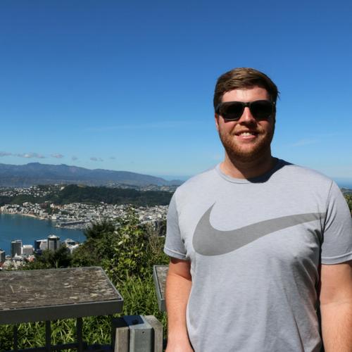 Volunteer in Wellington - Tyler