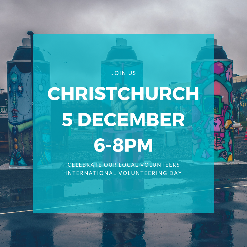 Join us for a celebration of how local volunteers have shaped the Christchurch community and continue to make Christchurch a great place to live. We'll hear from some amazing local change makers and show you how you can get involved through Collaborate.