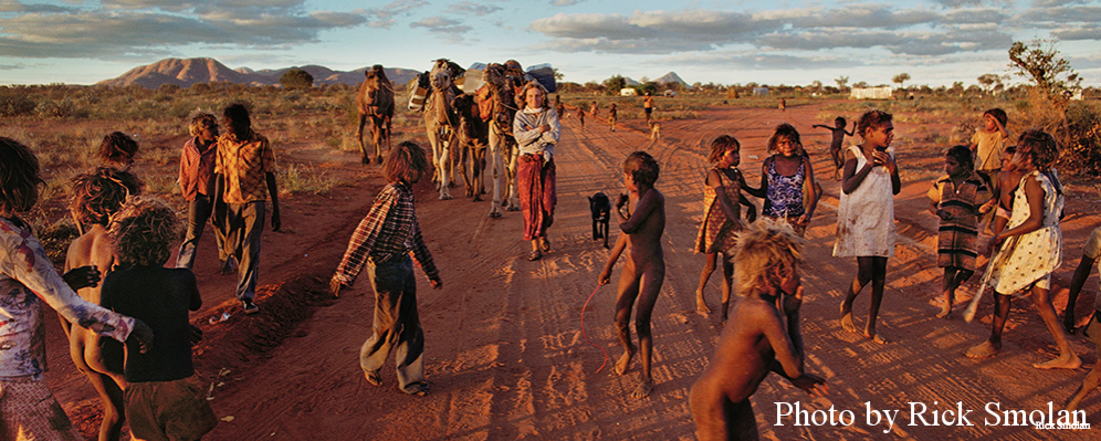 In Robyn's Tracks - Rick Smolan talks photographing Robyn Davidson's epic Australian journey. Published in Entertainment Voice