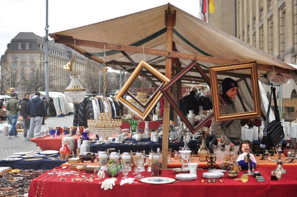 Exploring Berlin's Flohmarkts -
