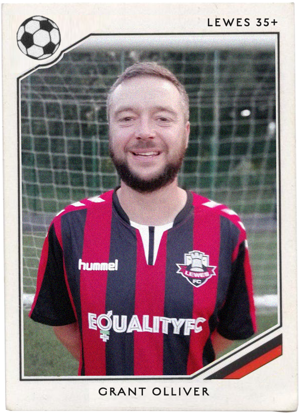 NAME: Grant Olliver POSITION: Defender TEAM: Tottenham Hotspur FOOTIE MOMENT: England beat Holland 4-1 Euro 96