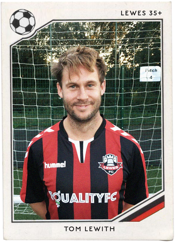 NAME : Tom Lewith  POSITION : Forward   TEAM : Southampton   FOOTIE MOMENT : Saints' promotion in 2011, the first of 2 back-to-back promotions with the excellent team Nigel Adkins eventually took back to the Premier league