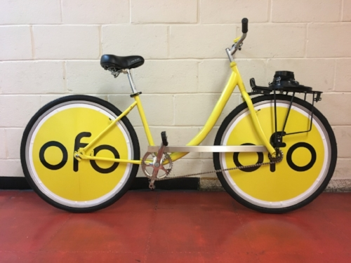 Branded Bike Wheels Ofo