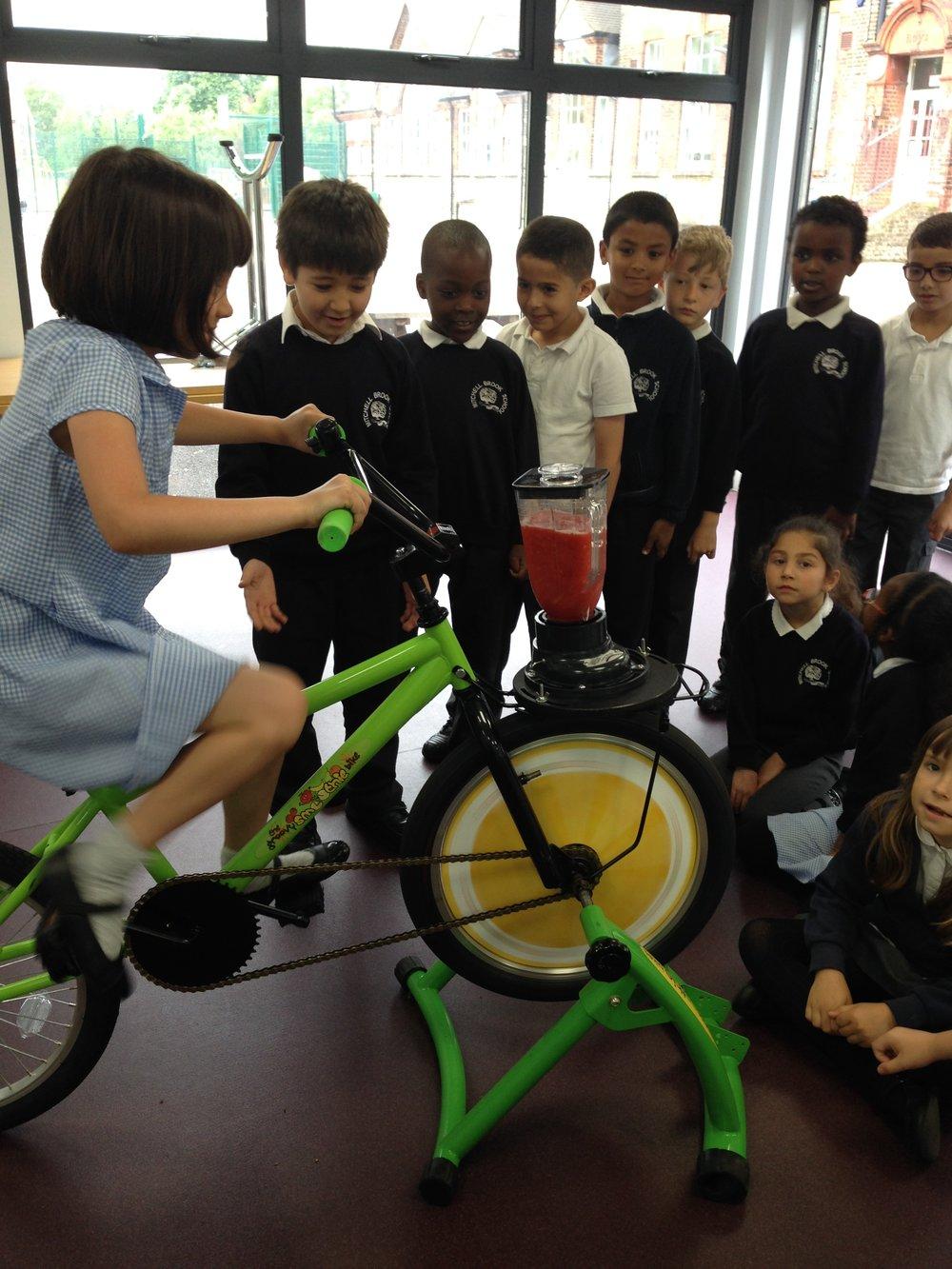 Urban Smoothie Bikes School