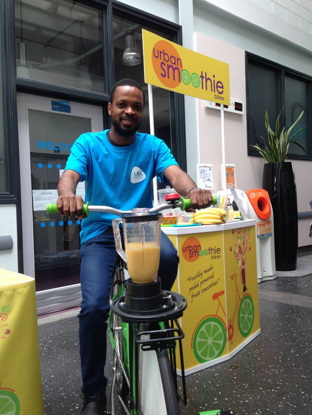 Urban Smoothie Bikes at University East London