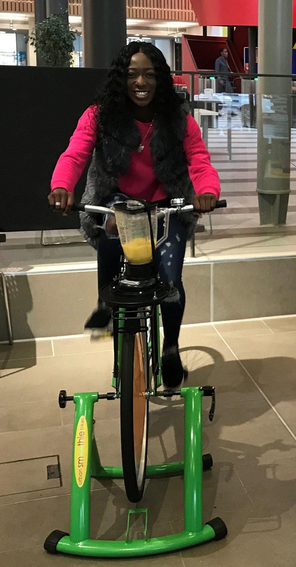 Urban Smoothie Bike Green