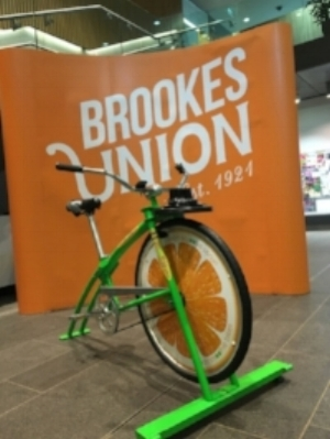 Urban Smoothie Bikes at Oxford Brookes University