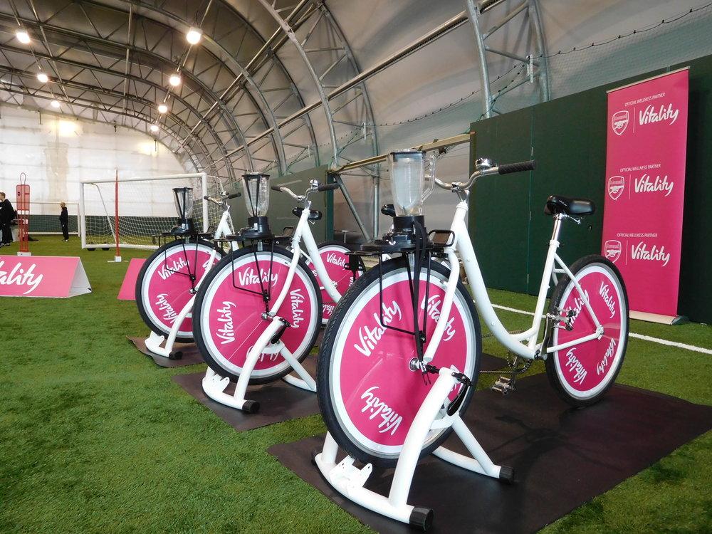 Smoothie Bike Branding Vitality