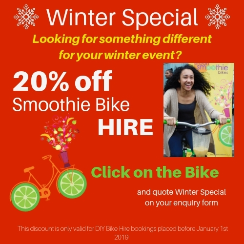 Smoothie Bike Offer Discount