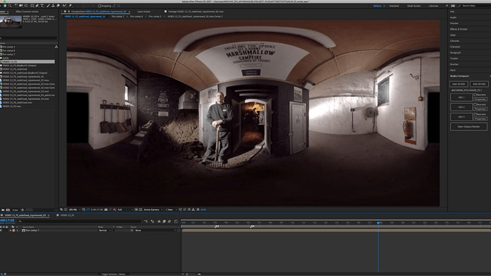 360° VIDEO POST PRODUCTION