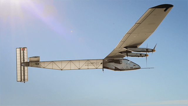 SOLAR IMPULSE - FLIGHT FOR THE FUTURE