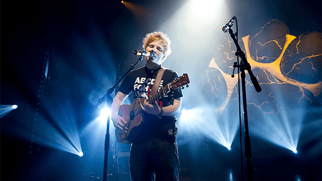 ED SHEERAN LIVE AT SHEPHERD'S BUSH EMPIRE