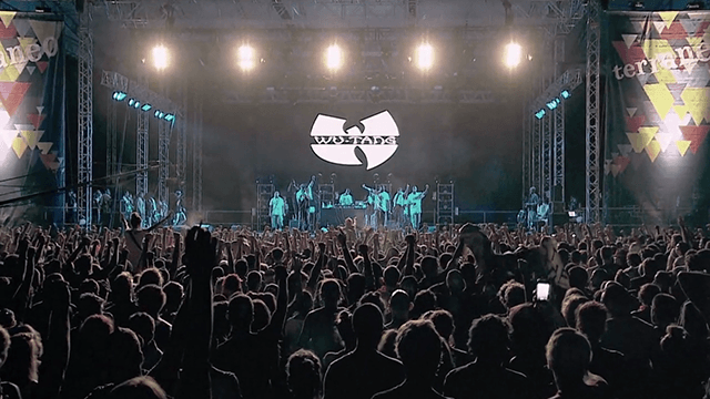 WU-TANG CLAN LIVE AT TERRANEO FESTIVAL