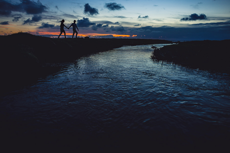 bryllupsfotograf på jæren ved sjøen