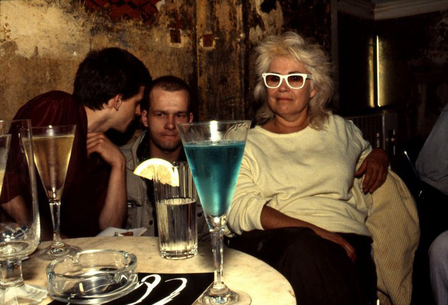 Bea with the blue drink, O-Bar, West Berlin1984 by Nan Goldin