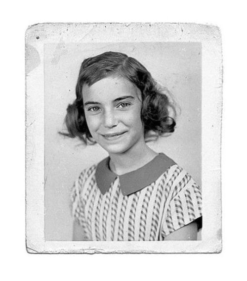 Patti Smith, age 11