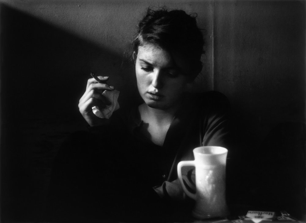 Janine Pommy Vega, Seven Arts Coffee Gallery, New York, 1959.jpeg