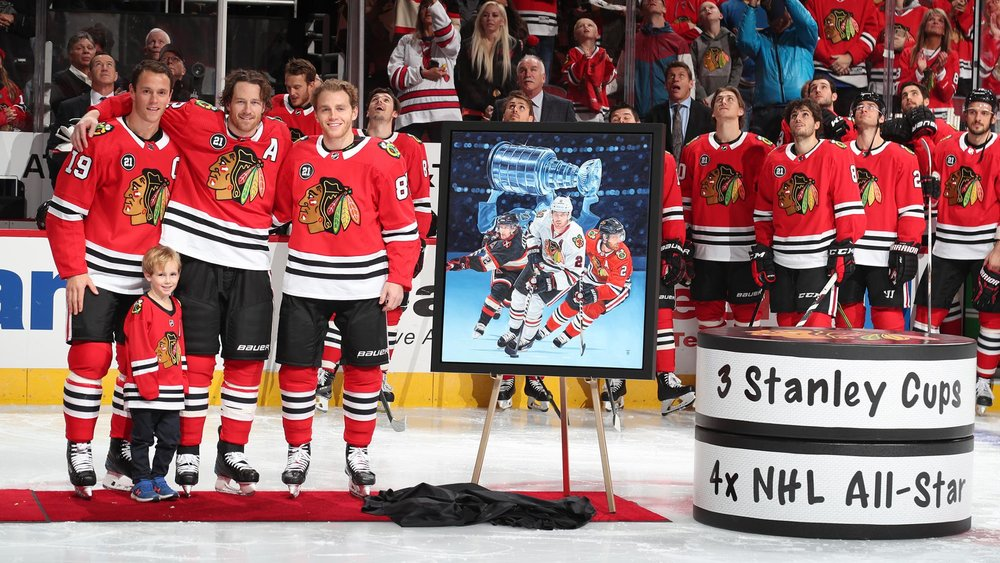 Duncan Keith 1,000 Career Game