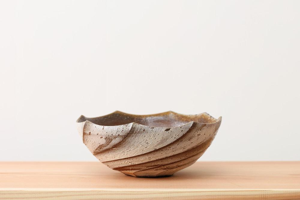 螺法鉢 Rahou-hachi 備前 Bizen, 2015