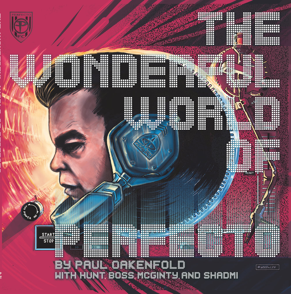 The Wonderful World of Perfecto: By Paul Oakenfold and Various  Description; Paul Oakenfold is the greatest DJ of all time, one of the progenitors of house music, platinum selling artist and composer of numerous soundtracks. Now comes the not quite true story about of his life told in graphic novel form. Starting at the genesis of his career in Ibiza, this book charts the windy road taken to fame, fortune and musical nirvana.   Featuring an Soundtrack By Paul Oakenfold