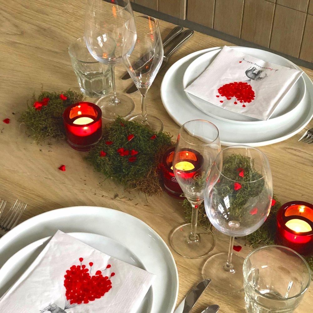 TRUE ROMANCE - Boxen voor een romantisch diner…