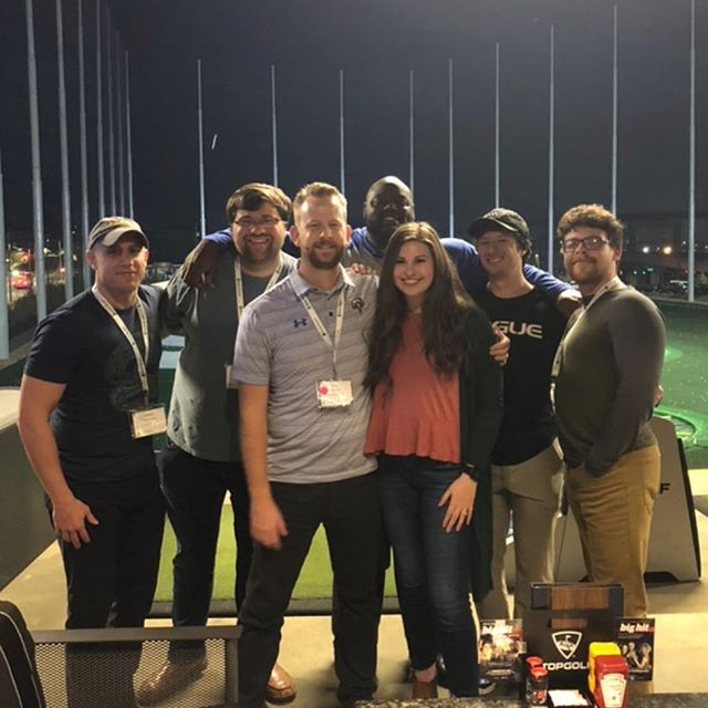 What a great time at Topgolf! #region2magic