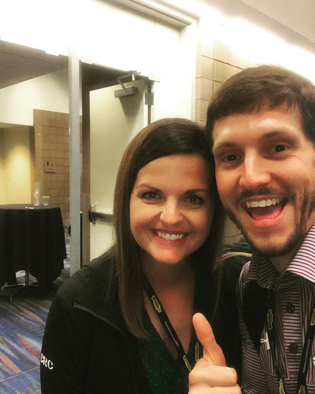 At The Athletic Business Conference and had a great time meeting the staff from Georgia Tech. Caroline was at Region II and then made the trip down here to New Orleans. We had a great time discussing Esports and the podcast and it's good to hear that it's inspiring some to take action.  #athleticbusinessconference #nirsa2018 #nirsaregion2 #georgiatech #gatechcampusrec
