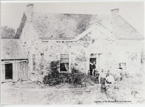 Seaman House, built in 1857.