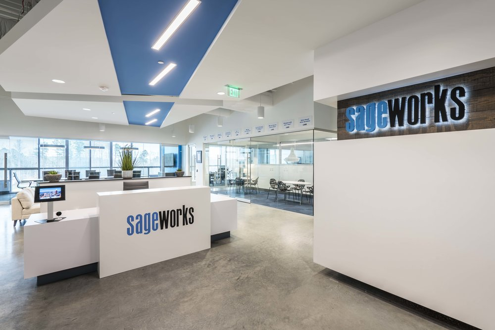 SAGEWORKS - 34,000 SFRALEIGH, NC•Financial information company that provides lending, credit risk and portfolio risk solutions to financial institutions and provides financial analysis and valuation applications to accounting firms and private companies.
