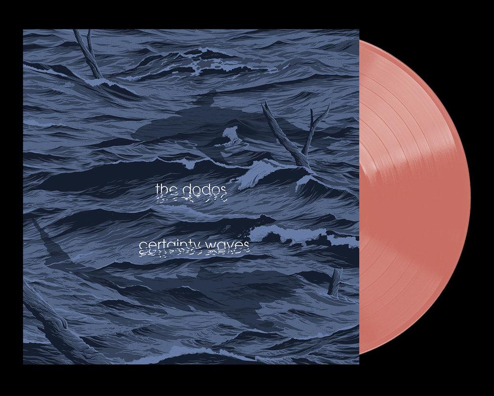 Available on limited edition 180-gram salmon vinyl + digital