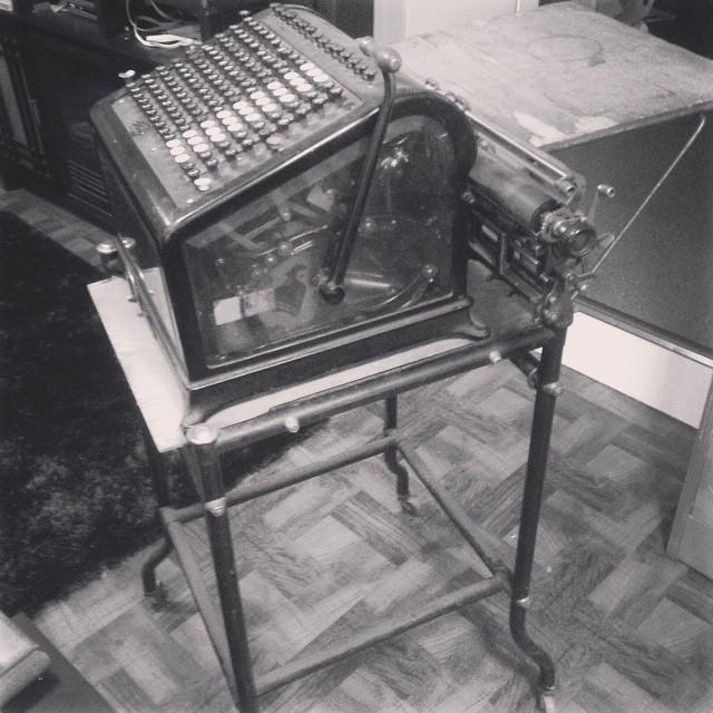 1910 adding machine