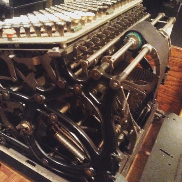 adding machine innards
