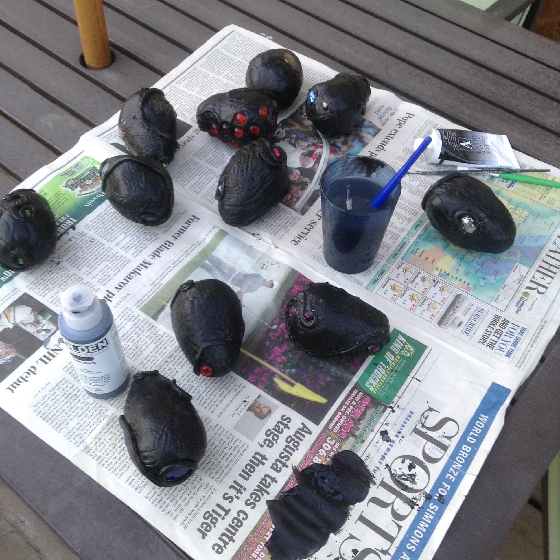 initial coat of paint