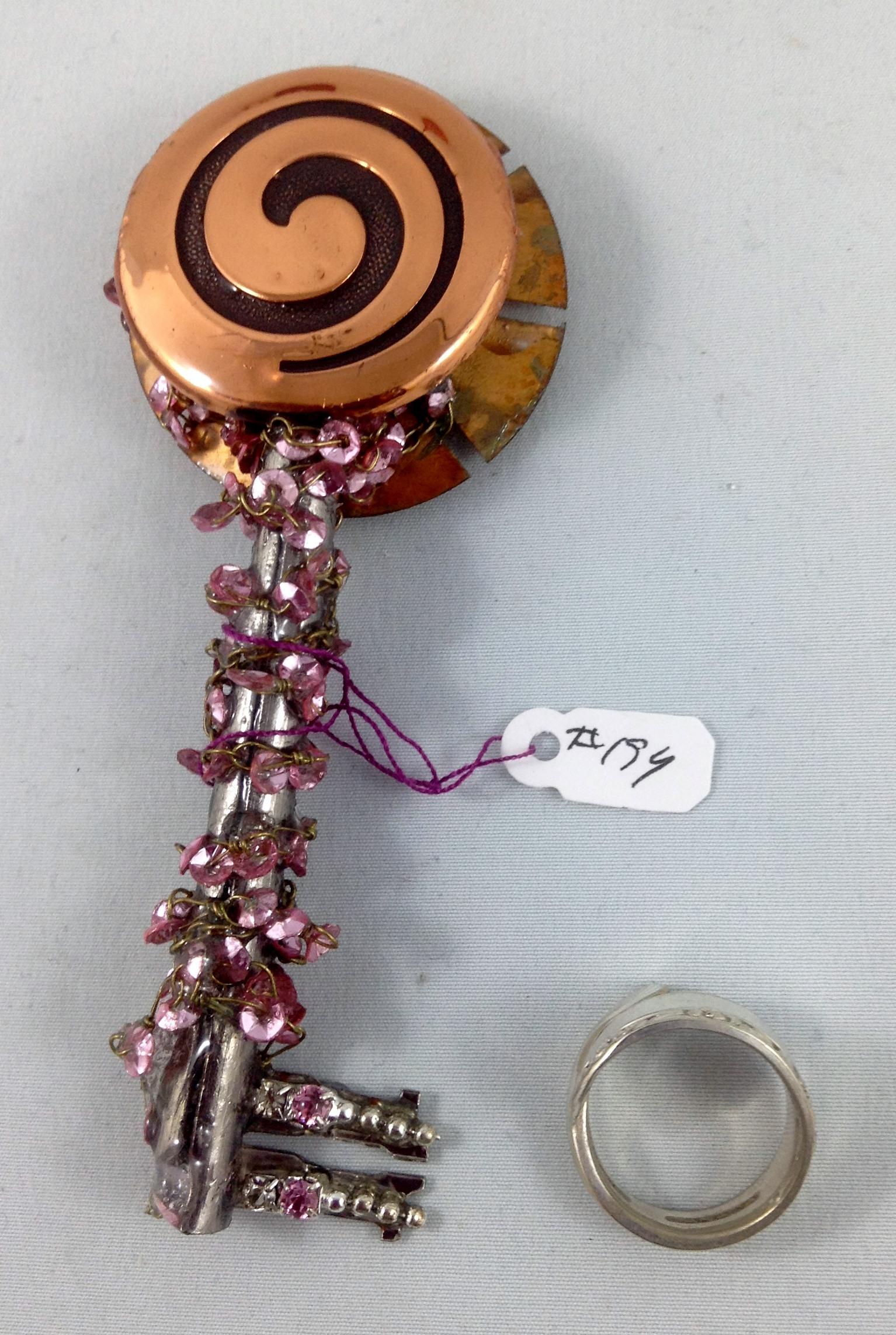 one side key 194