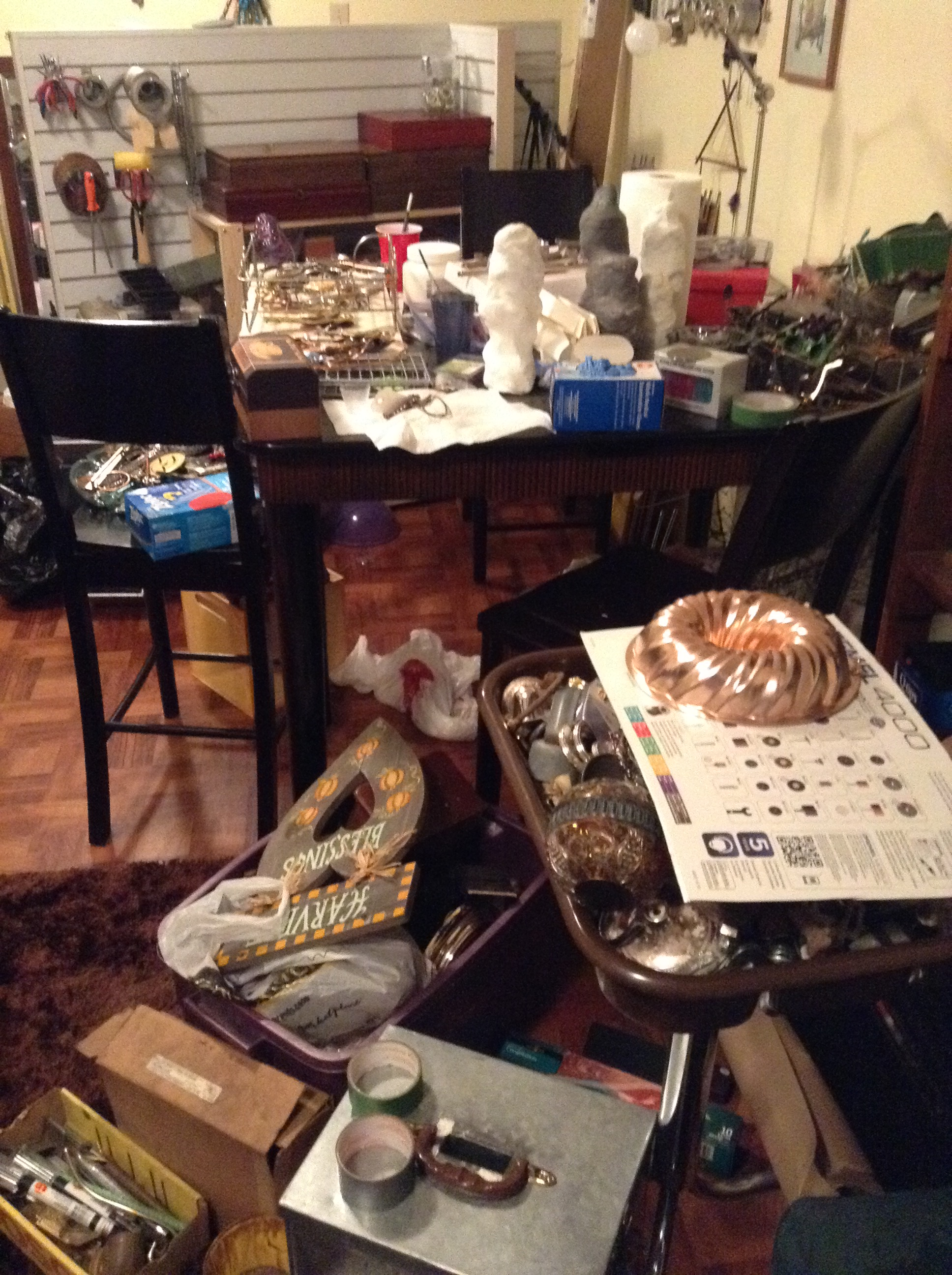 more mess in my workspace