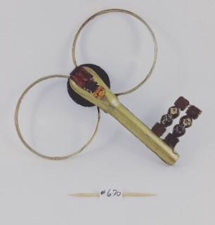 Key 670 one side
