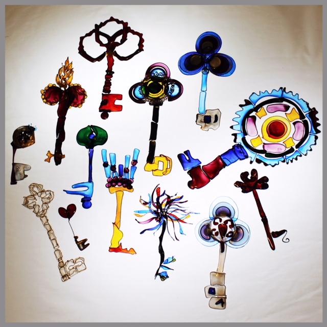 Keys Made From Dip-it Fantasy Film.JPG