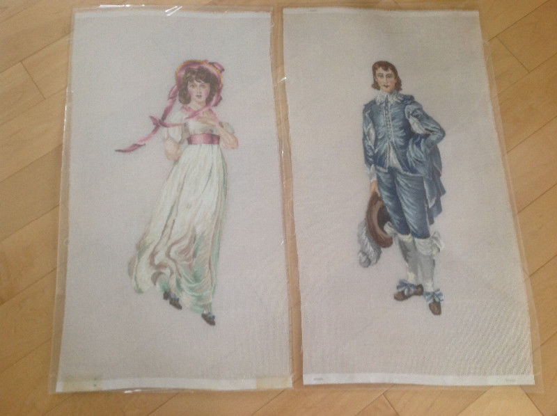 Pink Lady and Blue boy petit point.JPG