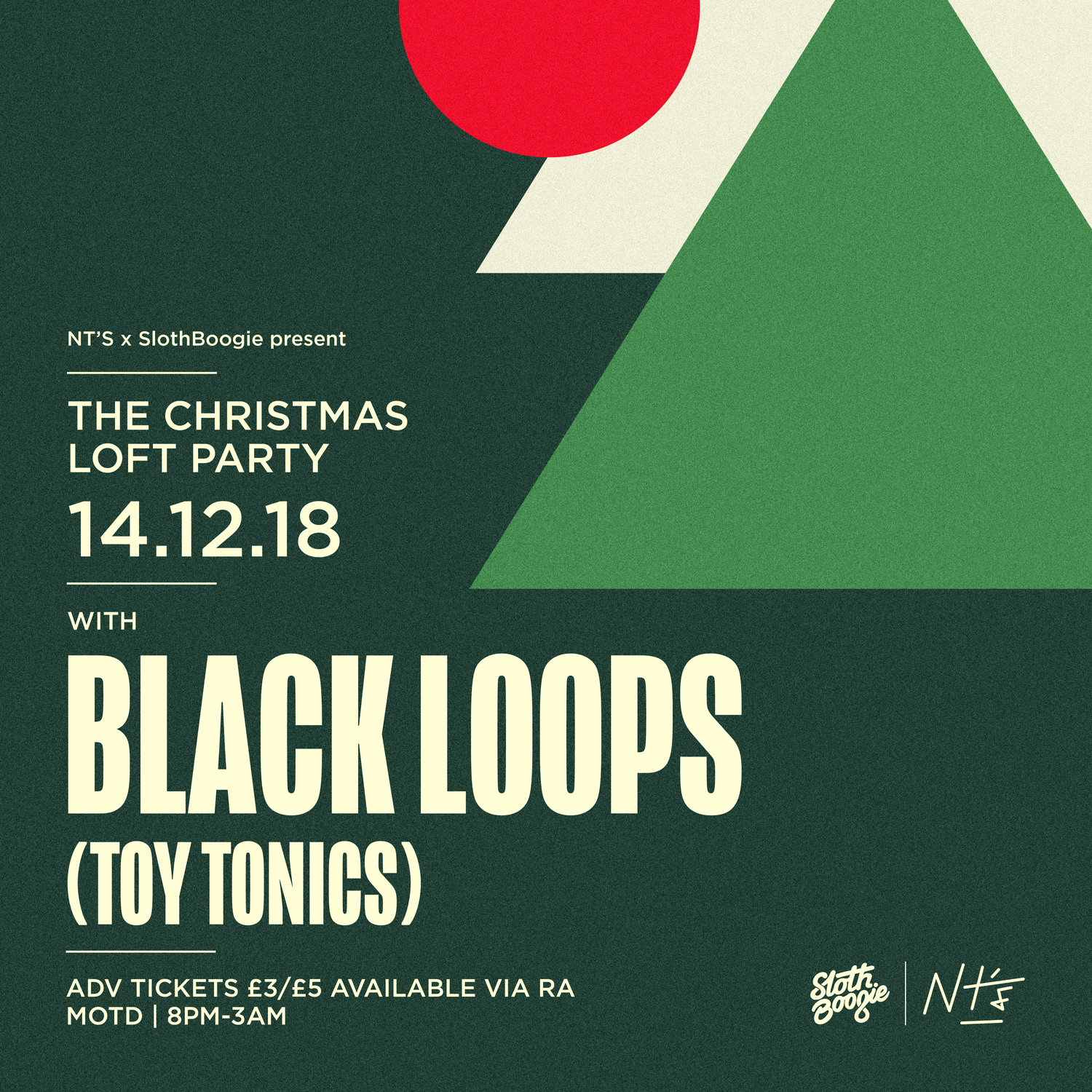 The Christmas Loft.The Christmas Loft Party With Black Loops Slothboogie Nt S