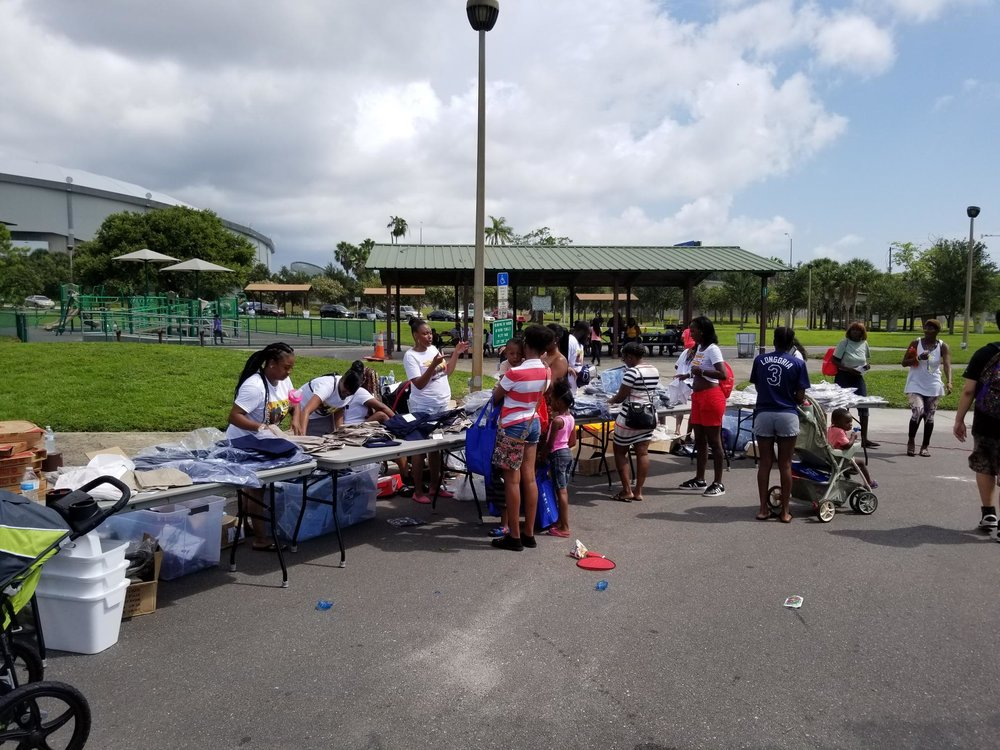 Campbell Park Block Party  Held July 28, 2018 at Campbell Park in St. Petersburg. This event was hosted by the United Way to show the Campbell Park Resource Center to the neighborhood. Thank you to Sponsors Duke Energy and the City of St. Petersburg for helping to make this event happen.