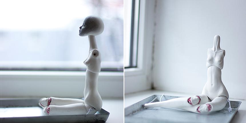 How to create a porcelain BJD?