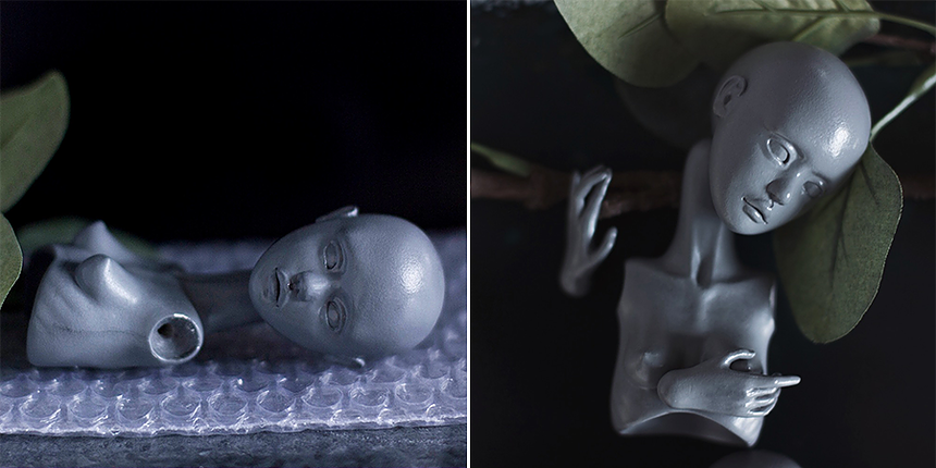 How to create a porcelain BJD? by Nymphai Dolls